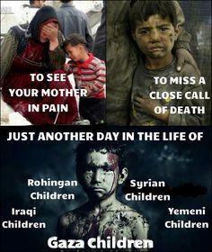 Ik heb dit plaatje gekozen, omdat zowel kinderen als ouderen er onder lijden