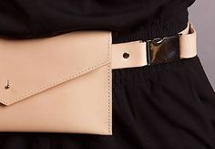 SASH.leather / LEATHER BELT BUCKLE / rôzne farby /