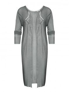Long cardigan True grey - Sandwich fashion Spring '16