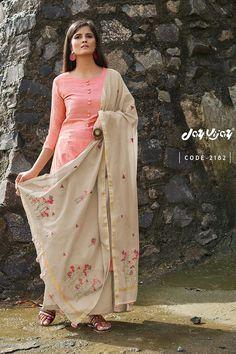 Buy Designer Bemberg Pink Color Festive Wear Salwar Kameez With Hand Work at low price from Hayaindia