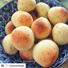 """63 curtidas, 3 comentários - Empório Ecco (@emporioecco) no Instagram: """"Comece sua manhã com um Pãozinho de Batata Doce sem Glúten e sem Leite! Confira a receita! #Repost…"""""""