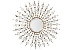Contemporary Sunburst Mirror - must get one of these