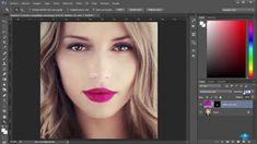 Retocar Labios con Photoshop