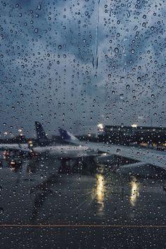 Rainy Airport
