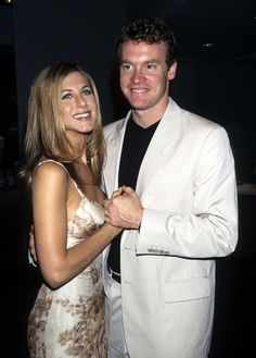 Jennifer Aniston and Tate Donovan were an item for almost three years before they broke up in 1998.