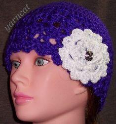 Claire Hat free crochet pattern