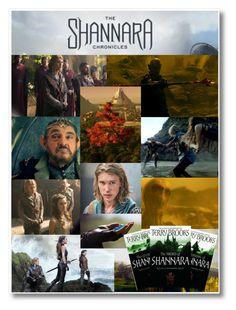 """The Shannara Chronicles / The Sword of Shannara Trilogy"" by hangar-knjiga ❤ liked on Polyvore featuring art, book, MTV, books, tvshow and Shannara"