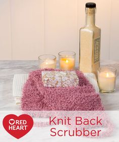 Knit Back Scrubber F