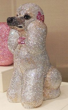 Judith Leiber Poodle bling. Not from the 40s but, come on...