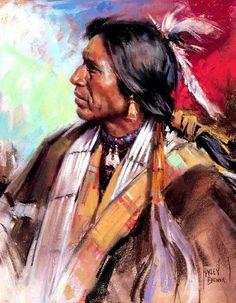 Harley Brown. Native American ...