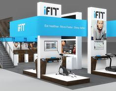"Check out this @Behance project: ""ifit Exhibition Design"" https://www.behance.net/gallery/25386581/ifit-Exhibition-Design"