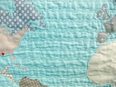 World map quilt machine appliqued by elouise map quilts world map quilt machine appliqued by elouise map quilts pinterest map quilt machine applique and globe gumiabroncs Image collections
