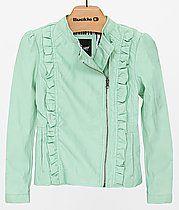 Girls - B Hip Faux Leather Jacket