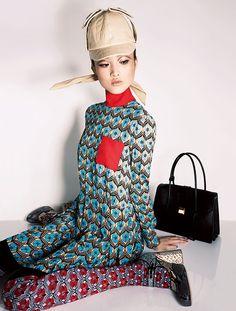 EYE SPY: Harper's Bazaar Japan June 2015 by Anthony Maule - Miu Miu Pre Fall 2015
