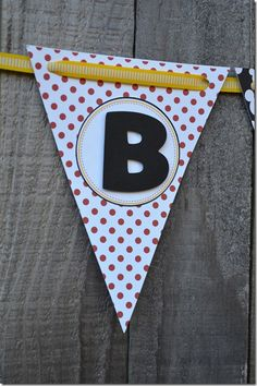 Mickey Mouse Party- Birthday Banner