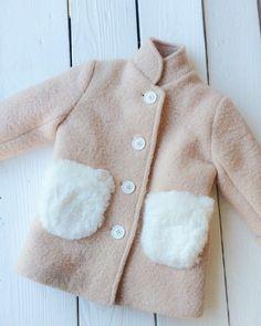 Милейшее пальто для девочки .