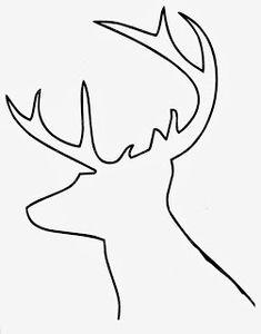 DIY Buffalo Check Reindeer Art