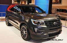 2016 Ford Explorer Sport Magnetic Metallic