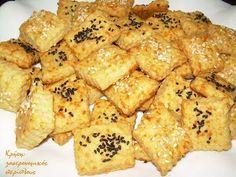 Σε ελάχιστο χρόνο και με ελάχιστα υλικά, κι όμως αρέσουν!  Έχω πουλιά κι αυγά! Αυτή την έκφραση χρησιμοποιούμε στα μέρη μας όταν έχουμε πολλές δουλειές. Μάλλον είναι απομεινάρι εποχών που τα … Koulourakia Recipe, Cookie Dough Pie, Greek Appetizers, Savoury Biscuits, Healthy School Snacks, Bread And Pastries, Greek Recipes, Other Recipes, Cooking Time
