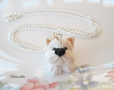 West Highland White terrier necklace