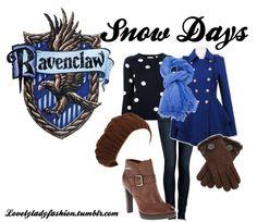 Ravenclaw Snow Day