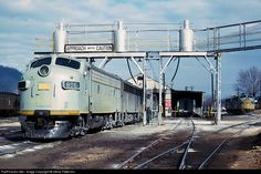 RailPictures.Net Photo: CRR 806 Clinchfield Railroad EMD F7(A) at Erwin, Tennessee by Steve Patterson