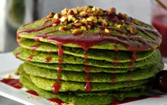 <p>These nutty, fluffy pistachio pancakes are a must-make for breakfast, brunch, and brinner.</p>