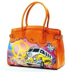 hippie bus bag