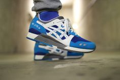 Sweetsoles – Asics Gel Lyte III - Blue/White (by Marcus Wessel)