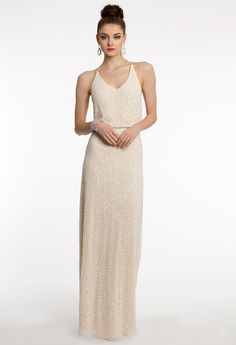 Sequin Flowy Dress With Open Back from Camille La Vie and Group USA
