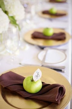 Rustic Chic Dickerson, Maryland Wedding from Readyluck Cheap Favors, Wedding Favors Cheap, Cute Wedding Ideas, Perfect Wedding, Snow White Wedding, Green Wedding, Fall Wedding, Candle Arrangements, Fall Table Settings