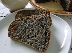 kudy-kam...: Makovo-tvarohová bábovka Baking Recipes, Dessert Recipes, Poppy Cake, Czech Recipes, Banana Bread, Good Food, Food And Drink, Cupcakes, Cooking