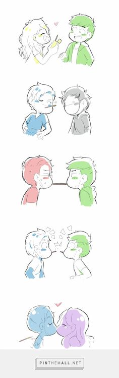 Pocky Challenge by some-youtubes | Septiishu | PewDieCry | Septiplier | Jelix Septicpie | Melix