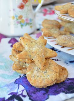 Galletitas crocantes de queso Cooking Time, Cooking Recipes, Ice Cream Pies, Toddler Meals, Cookies, Sin Gluten, Finger Foods, Crackers, Tapas