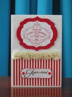Stampinggranny - Ankie: Huwelijksfelicitatie
