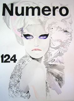 White Hot #fashion #illustration by Cate Parr