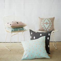 Tiny Triangle Cushion @ivy_cabin