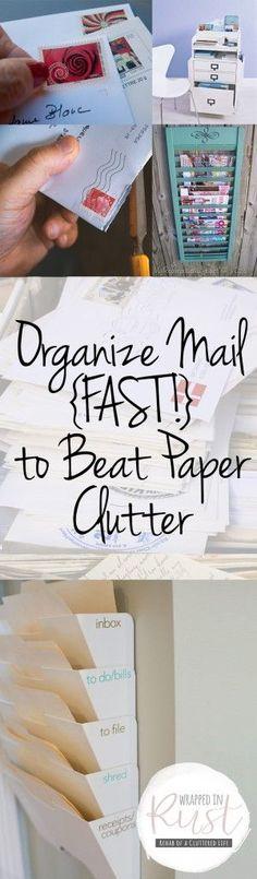 Organize Mail {FAST!