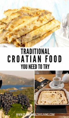 If you are traveling to Croatia then you will want to try the traditional food from each region. Here are the top traditional foods to try when visiting Croatia. #croatia #croatianfood #desserts Visit Croatia, Croatia Travel, Europe Travel Guide, Budget Travel, Travel Guides, Travel Destinations, Traditional Croatian Food, National Dish, Croatian Recipes