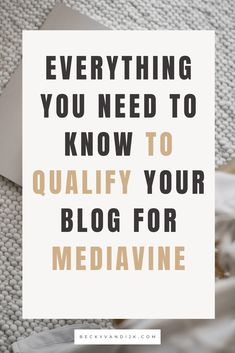 Looking for the best ways to qualify your blog for Mediavine advertising? Read our complete guide with the top 5 tips to boost your organic blog traffic to reach Mediavines minimum session requirements. This guide also shares everything you need to know about why and how to qualify for Mediavine advertising on your blog, with each tip covering a different way to grow your blog traffic to qualify. #blogging #mediavine #blogtraffic Business Tips, Online Business, How To Start A Blog, How To Make Money, Email Marketing, Affiliate Marketing, Blogging For Beginners, Social Media Tips, Advertising