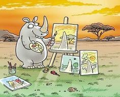 Vision impairments May 1 2016 is Save the Rhino Day