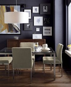 Sleek Glass Dining Tables