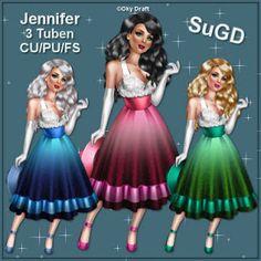 Dagny`s Scrap und Grafik Design: CU/PU Jennifer Tuben