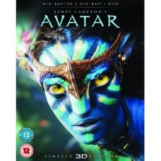 #Avatar with Limited Edition Lenticular Artwork (Blu-ray 3D + Blu-ray + DVD)[Region Free]. James Cameron (Director).