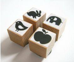 Mini Stempel-Set von enna von enna shop auf DaWanda.com