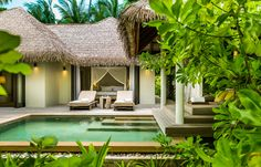 Beach Villa. Maalifushi by COMO, Maldives. © COMO Hotels & Resorts