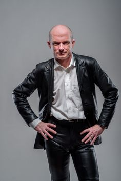 Men In Leather Blazers, Suits, Pants, And Fine Coats Leather Blazer, Leather Trousers, Leather Men, Leather Fashion, Mens Fashion, Motorcycle Leather, Straight Guys, Suit And Tie, Men's Collection