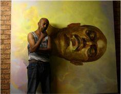 #SelfPortrait by Tamirat Gebremariam University of Melbourne George Paton Gallery