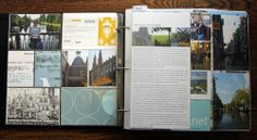 Travel Album using Becky Higgins' Project Life
