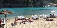 Пляж Палеокастрица Corfu Island, Beaches, Greece, Explore, Outdoor Decor, Home Decor, Greece Country, Decoration Home, Room Decor